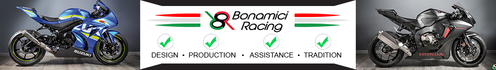 MOTO-D is the exclusive North American Distributor for Bonamici Racing Italy. For more info visit www.motodracing.com
