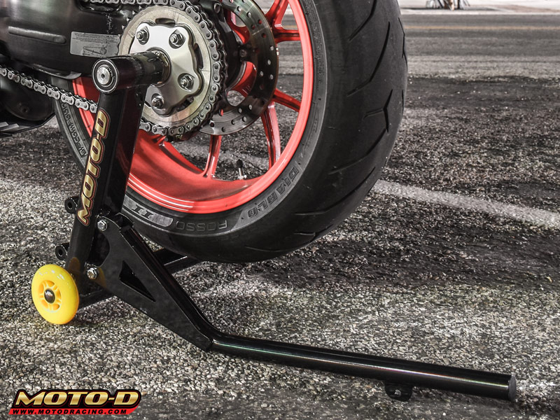 Moto D Pro Series Single Sided Motorcycle Swingarm Stand