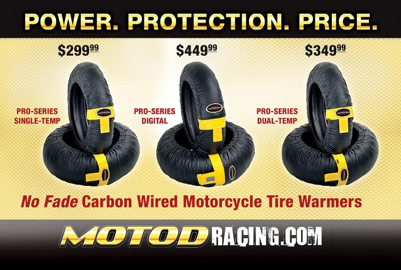 MOTO-D Racing Motorcycle Tire Warmers
