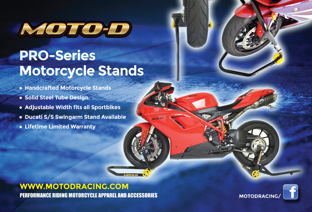 Ducati Monster Single Sided Swingarm Stand (MOTO-D) - Ducati