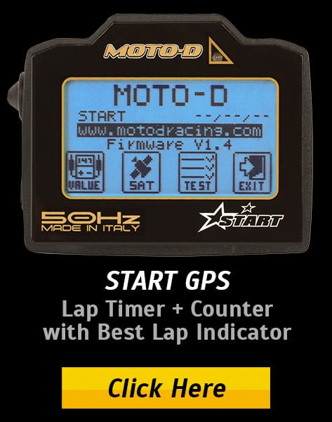 50HZ GPS Lap Timer for Motorcycles by MOTO-D