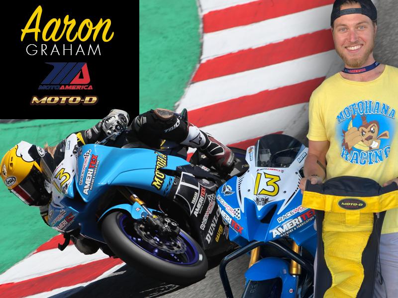 Motohana Racing Aaron Graham loves his MOTO-D tire warmers