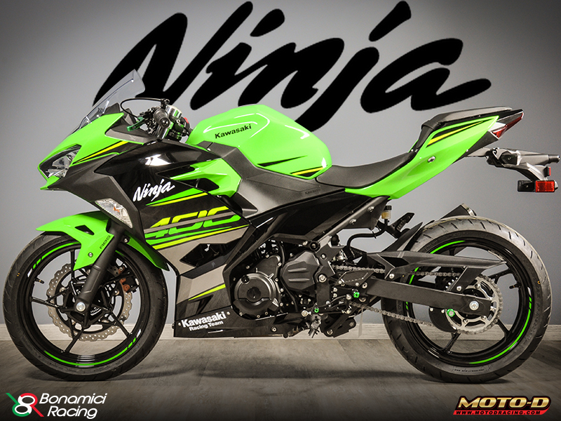Hot Hot Hot 2018 Kawasaki Ninja 400 Rearsets Race Upgrades From