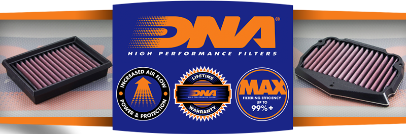 DNA makes the best sportbike motorcycle air filter