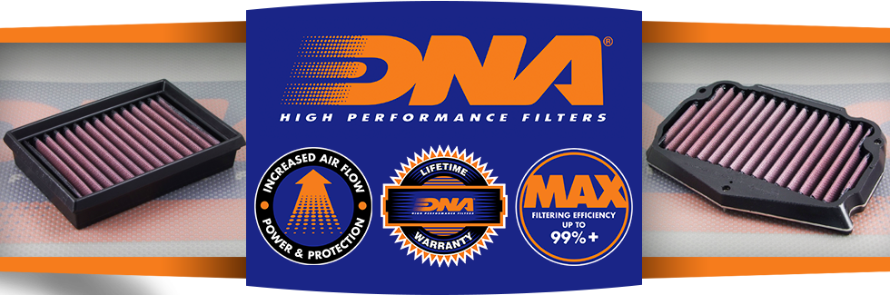 add horsepower on your motorcycle with dan air filters