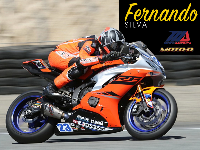 Fernando Silva of ART Performance has Bonamici R6 Rearsets on his racebike