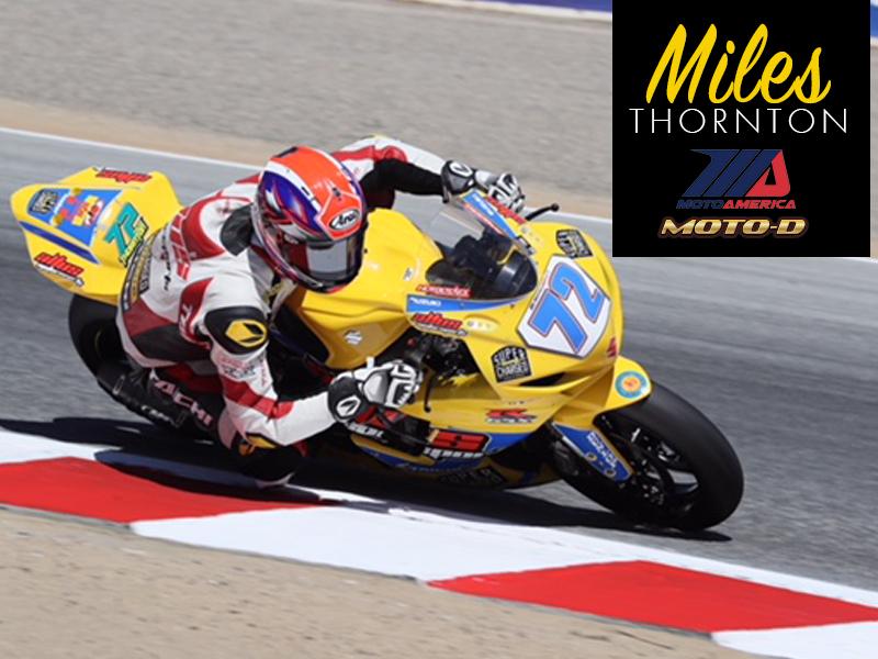 Miles Thornton Bonamici Lever Guard MotoAmerica Suzuki GSX-R 600