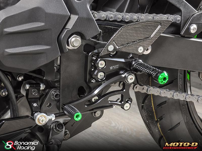 Hot Hot Hot: 2018 Kawasaki Ninja 400 Rearsets & Race