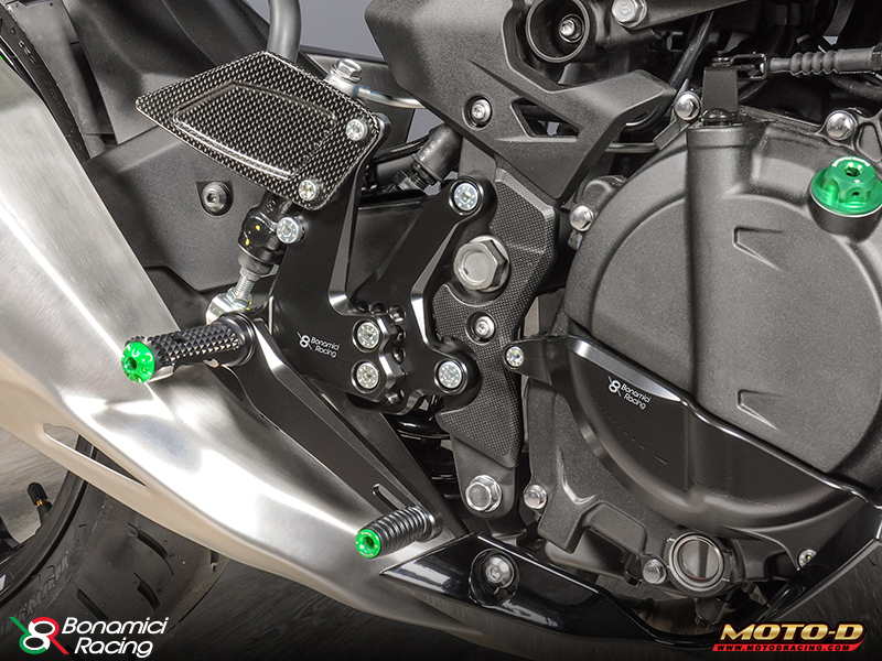 Hot Hot Hot: 2018 Kawasaki Ninja 400 Rearsets & Race Upgrades from