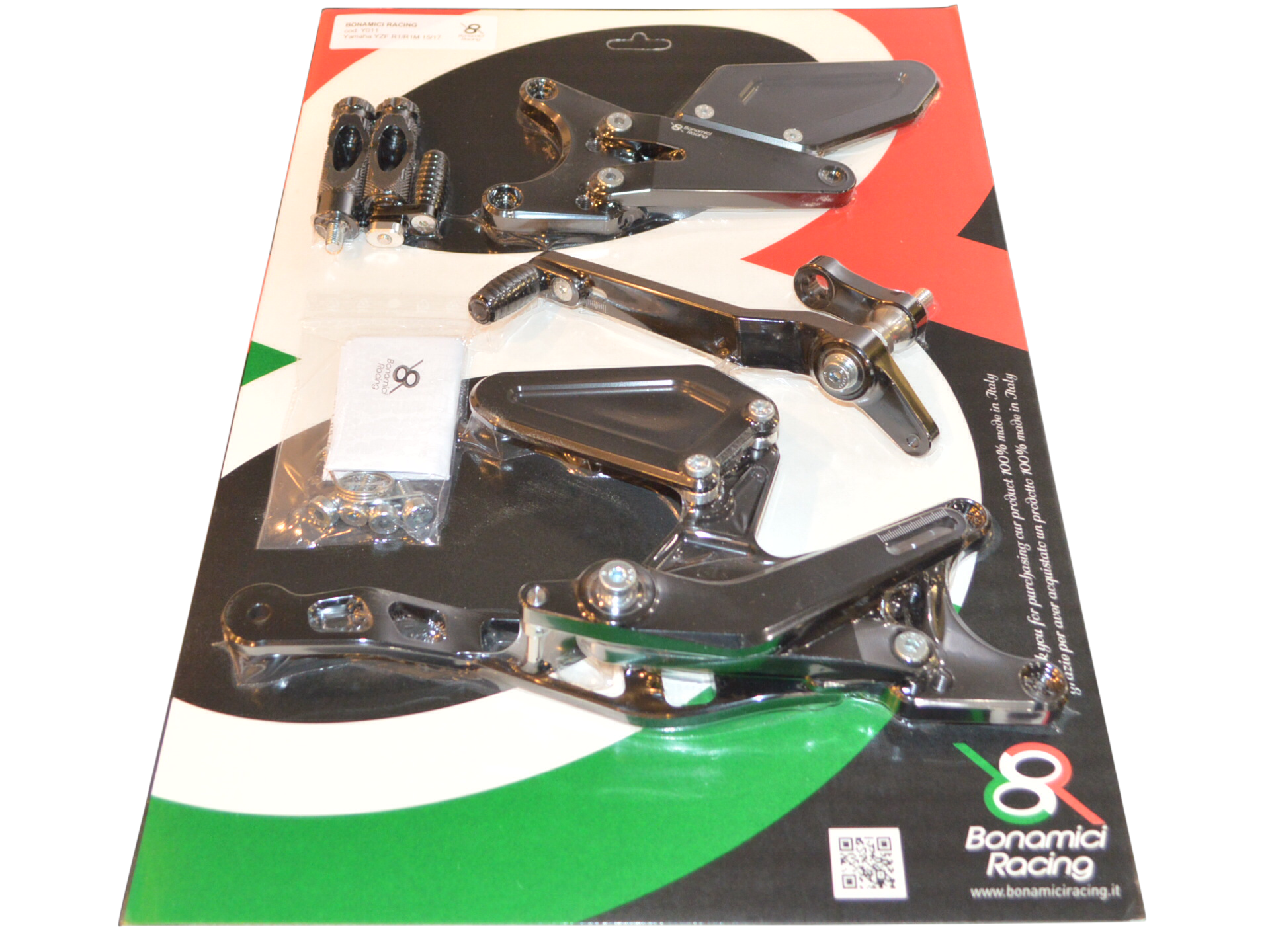 Bonamici Yamaha R1/R1M Rearsets 15-17