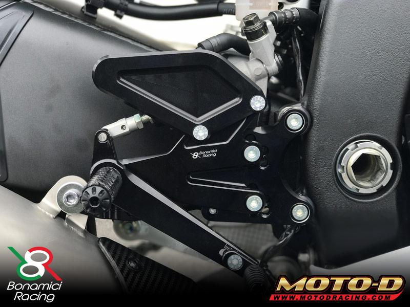 Bonamici Yamaha R6 Rearsets 2017