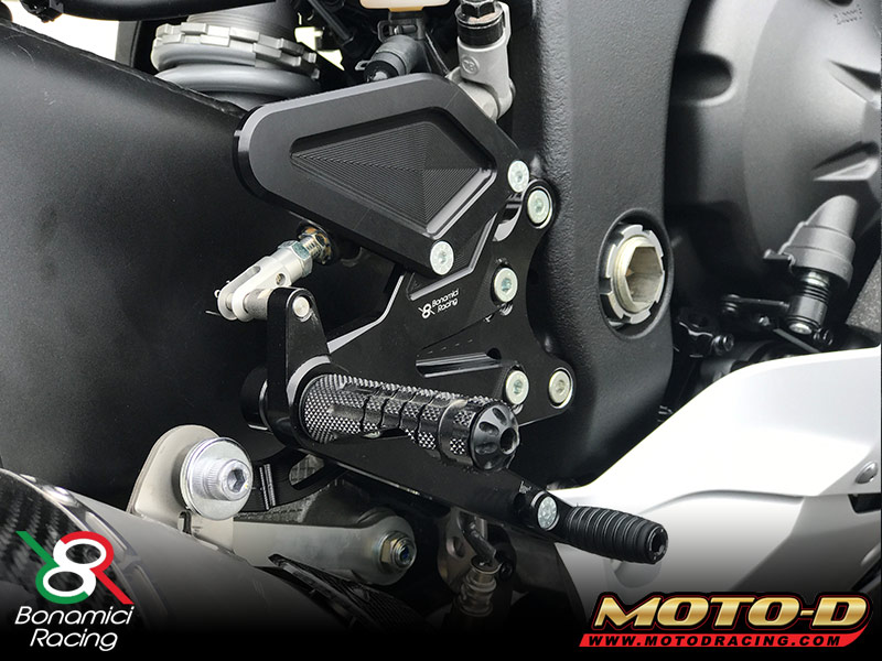 Bonamici R6 Rearsets 2017 Close Up