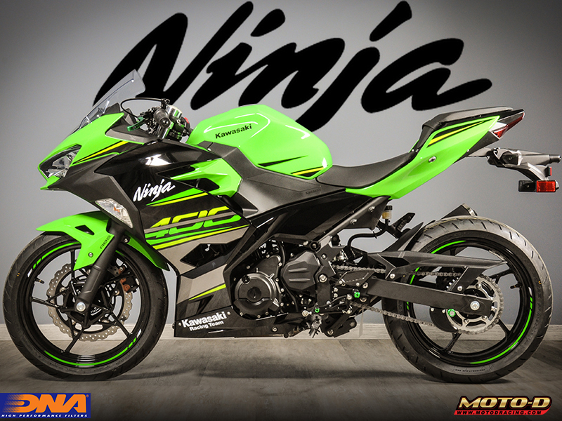 add horsepower to your ninja 400 using a dna motorcycle air filter