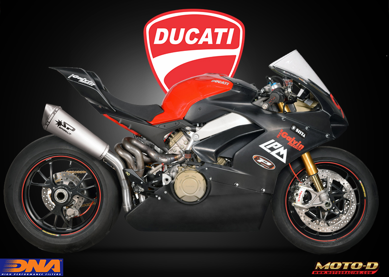 ducati air filters from DNA
