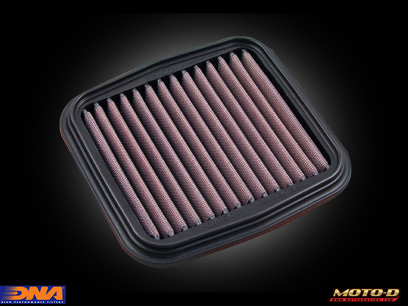DNA air filters for your ducati are washable and reusable