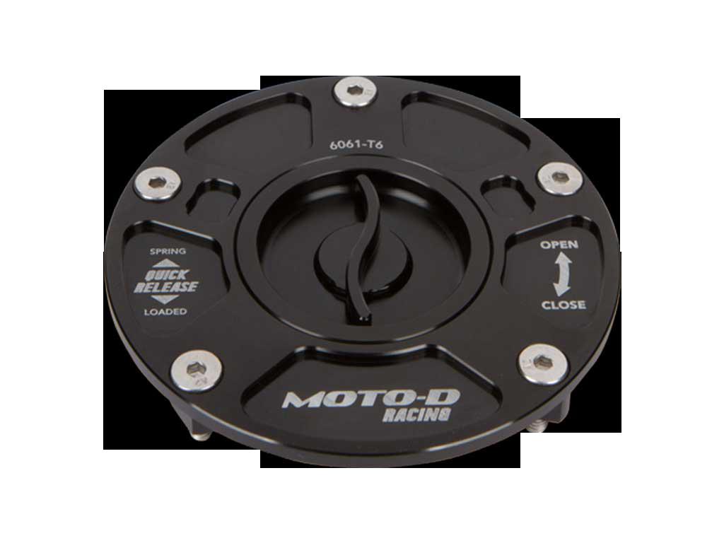 v2 MOTO-D Quick Release Fuel Caps