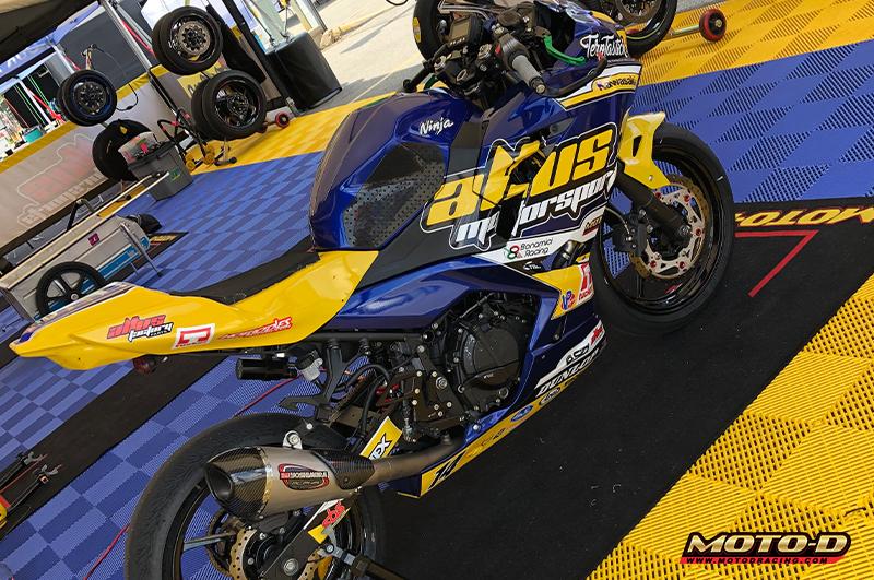 motorcycle pit mat