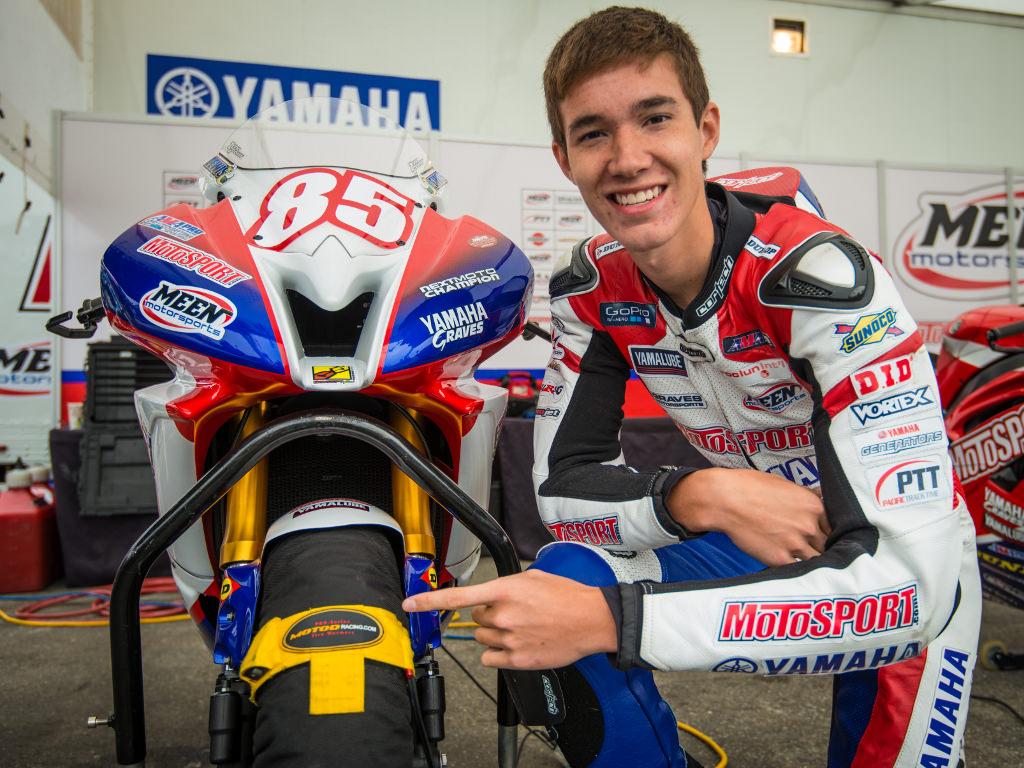 Jake Lewis AMA MotoAmerica Supersport Meen Motorsports