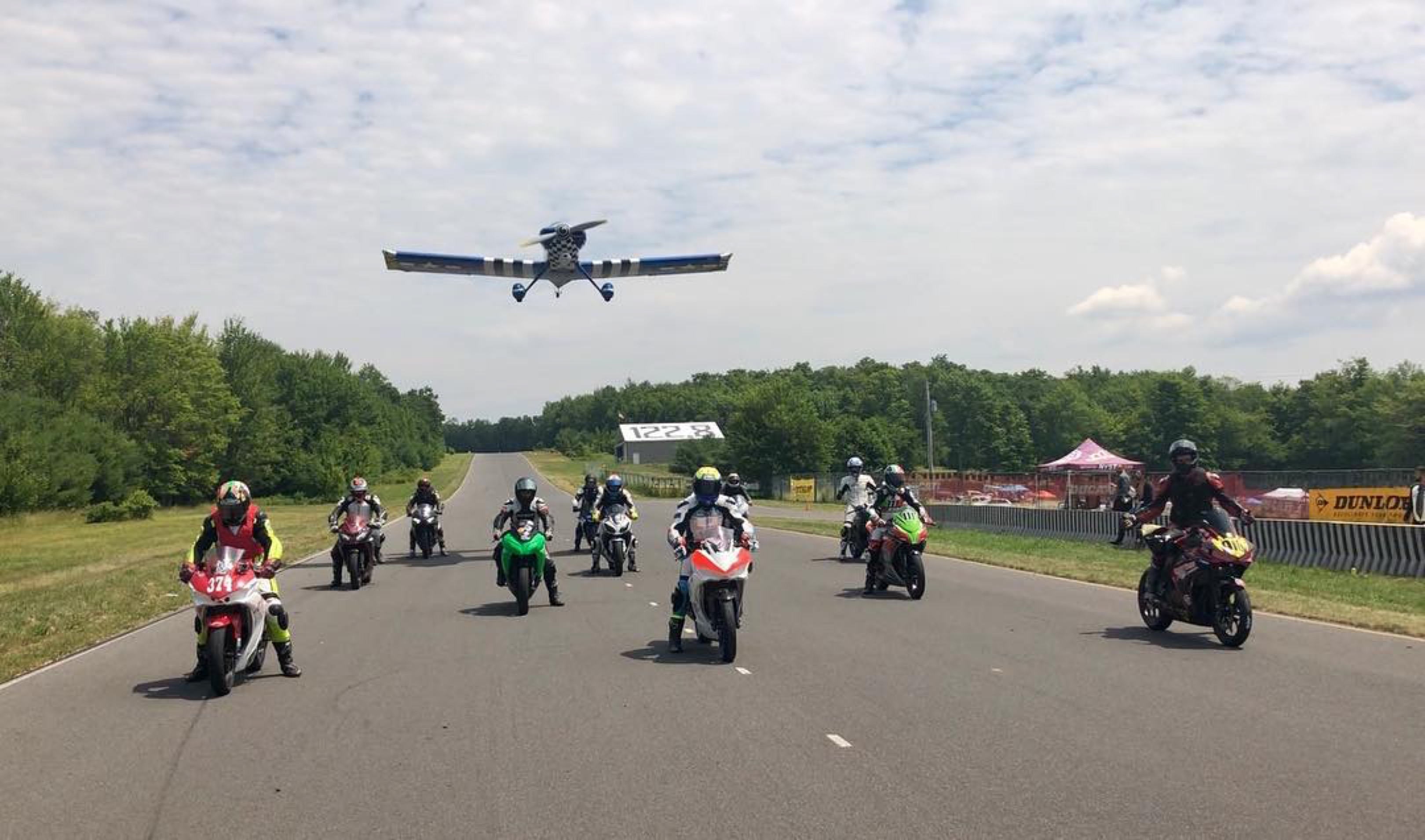 Were Having A Blast You Must Ride The New York Safety Track Kawasaki Ninja 300 Tarmac Full Exhaust System Carbon Fiber Motorcycle Racing And Trackdays At Nyst Series Races