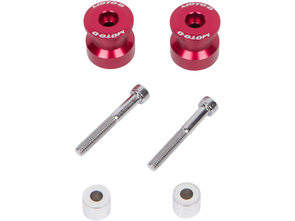 Aluminum Swingarm Spools for Sportbikes