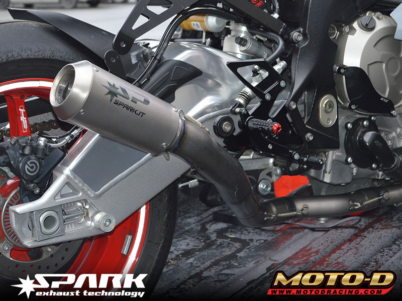 Spark Motorcycle Exhaust Systems