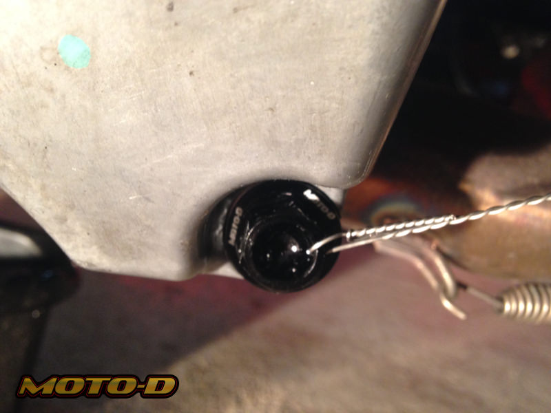 Magnetic Drain Bolt for Motorcycles