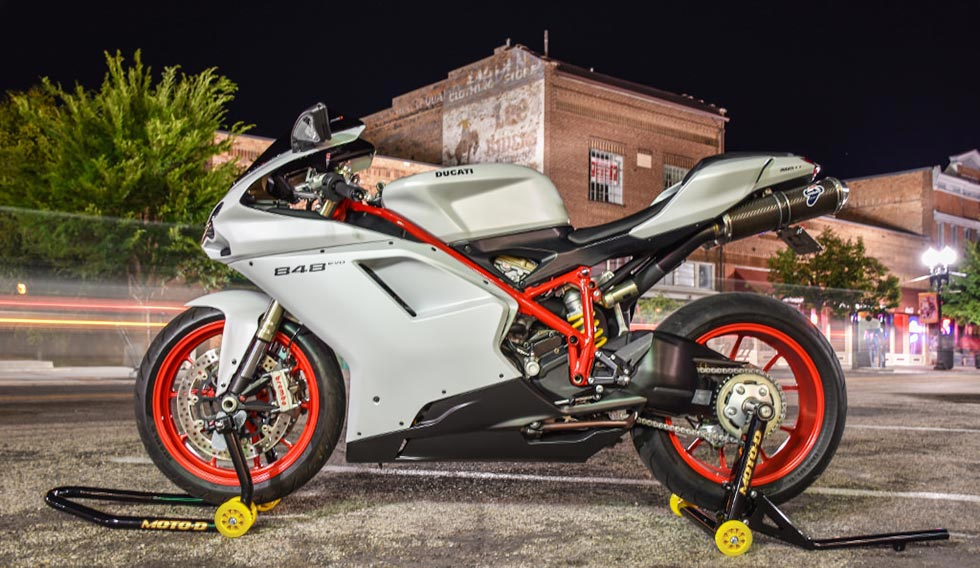 MOTO-D Ducati 848 Rear Stand