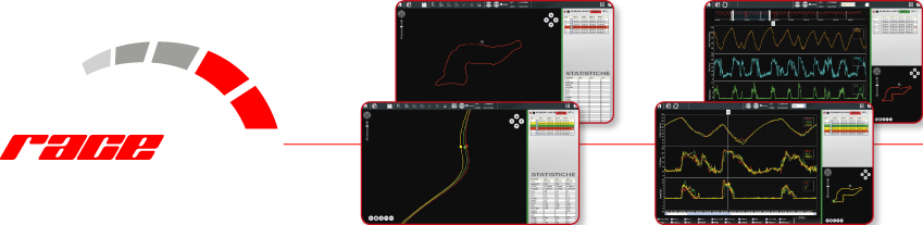 Race Pro GPS Lap Timer Software