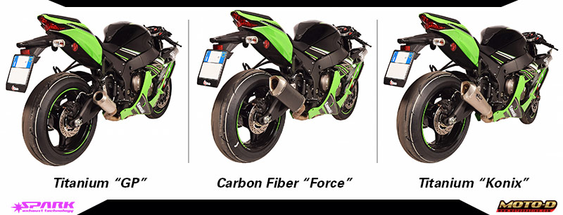 Want More Power? chose Spark Kawasaki ZX-10R Full Titanium