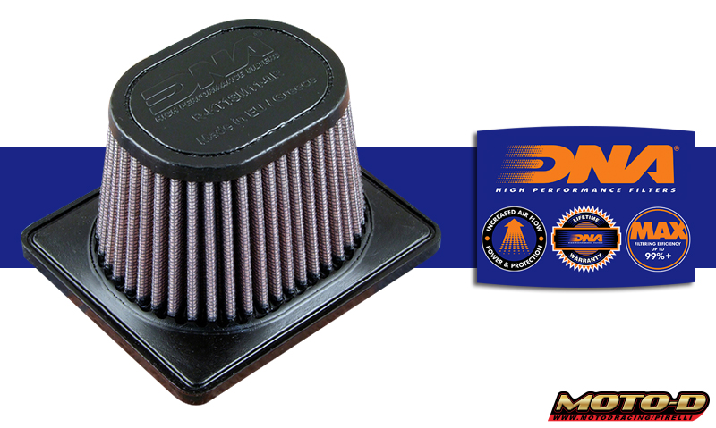 dna air filter for ktm rc390 send more clean air helping it to breath better