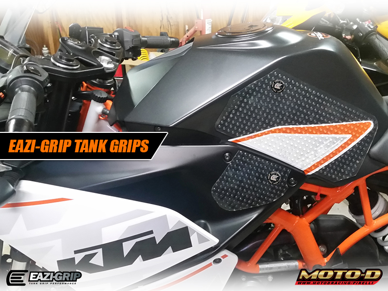 super grippy motorcycle tank pads for ktm rc390
