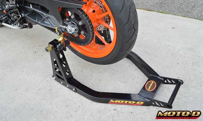 sportbike race stands that are strong, stable and lift easy